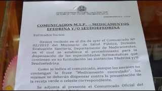 RECORRIDA POR LAS FARMACIA POR VENTA DE MEDICAMENTOS CON RECETA VERDE.flv