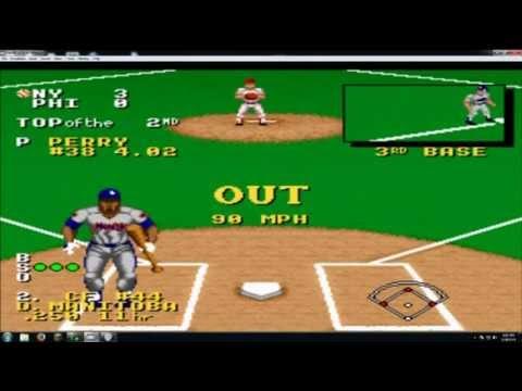 cf6e23fc26 Ken Griffey Jr. Presents Major League Baseball SNES - YouTube