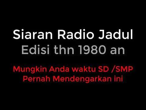 Rupanya ini Siaran Radio Jadul dan Lagunya Yang Enak di Dengar