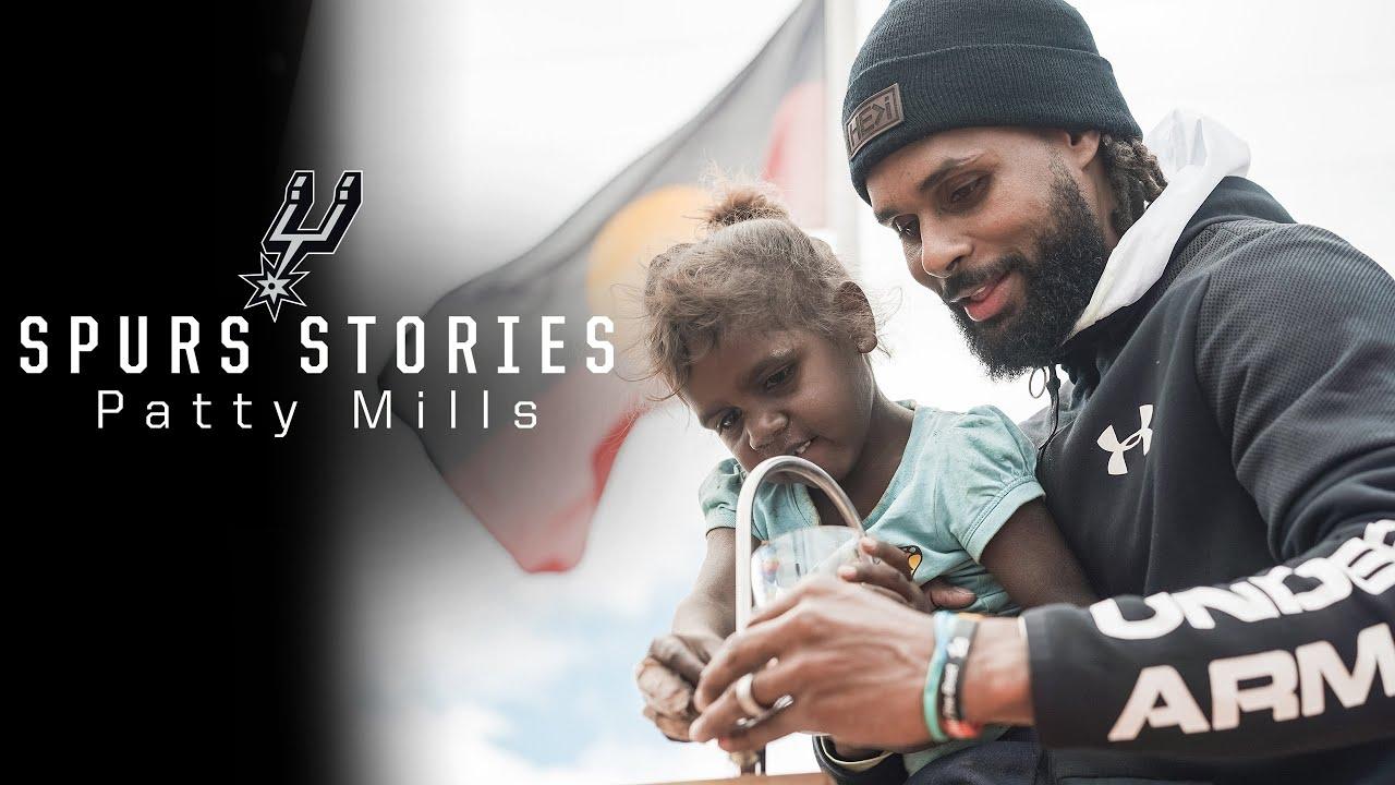 Spurs Stories: Patty Mills on Indigenous Basketball Australia