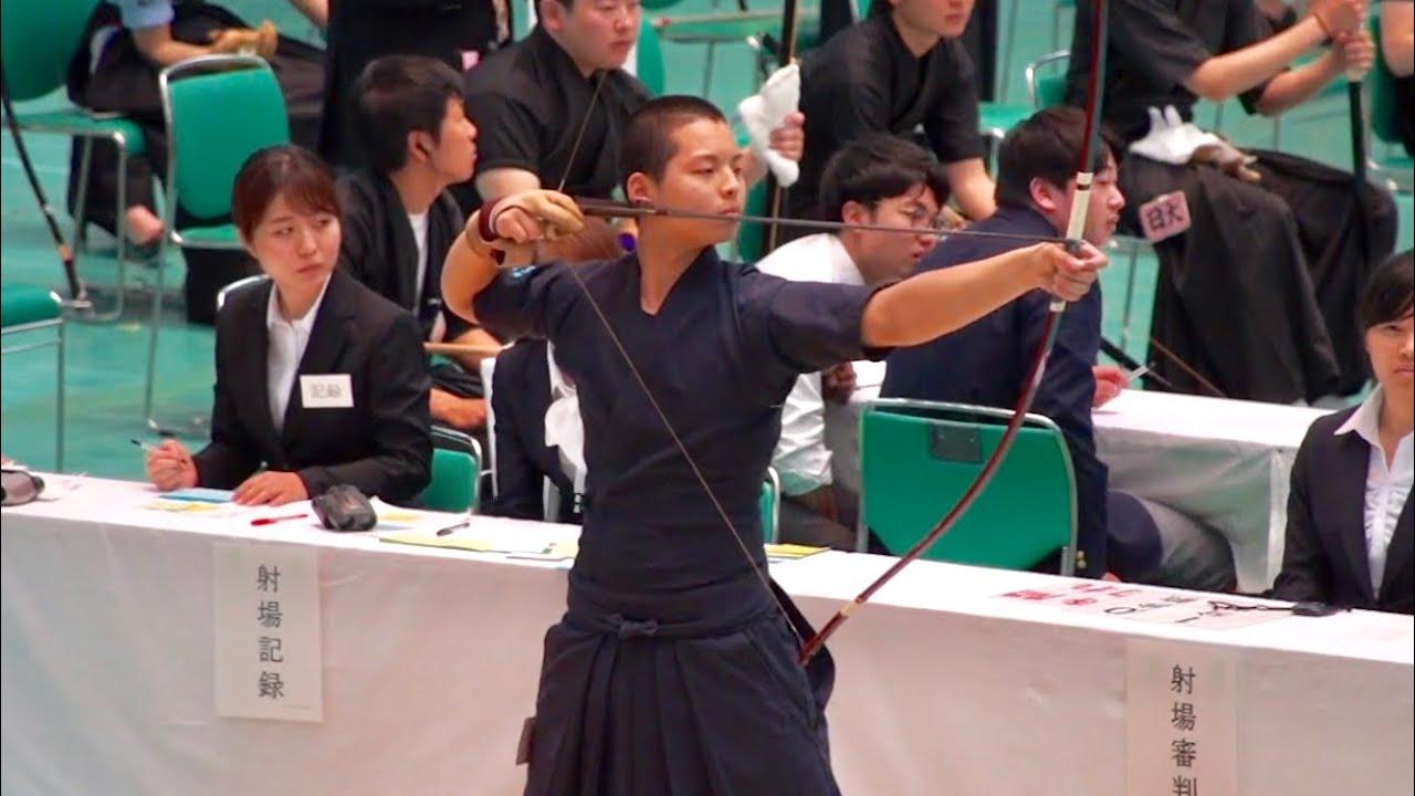 全 関東 学生 弓道 選手権 大会 2019