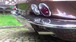1964 Chevrolet Corvette C2 Sting Ray exhaust sound