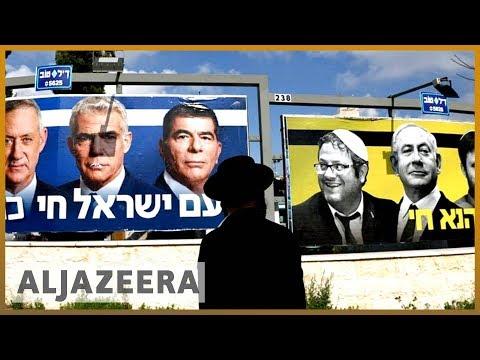 🇮🇱 Netanyahu and Gantz neck and neck in election | Al Jazeera English