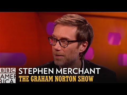Stephen Merchant Is Not The Rock's Gym Buddy | The Graham Norton Show | BBC America