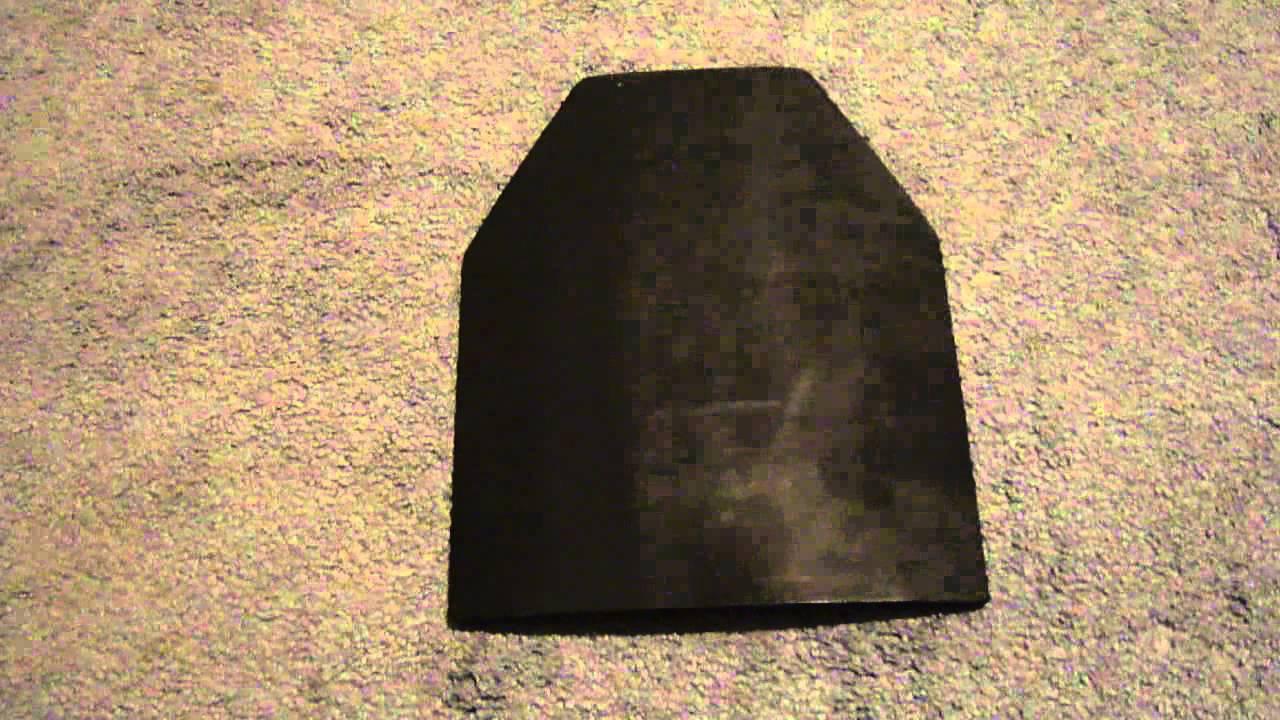 & Ceramic Vs. Steel Ballistic Plates - YouTube