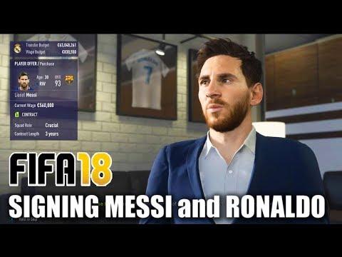 how to buy ronaldo in fifa 17 career