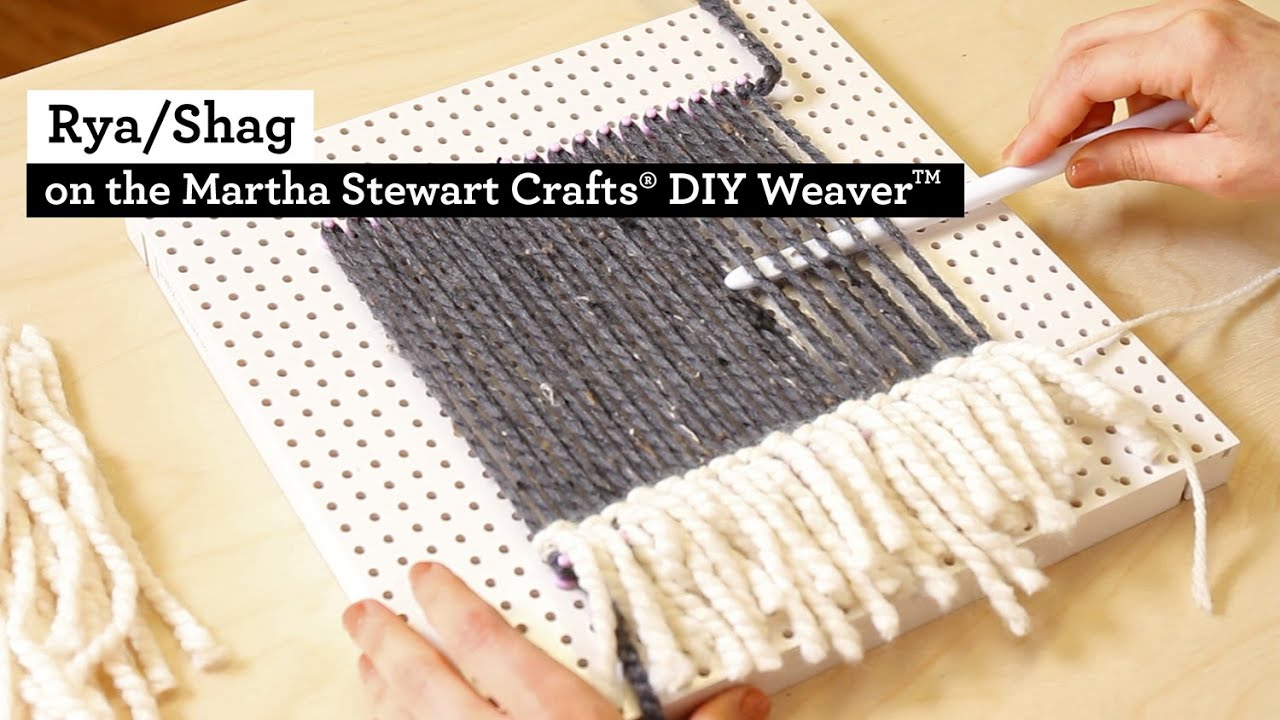 How to make Rya Shag with the Martha Stewart Crafts® DIY ...