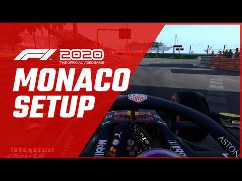F1 2020 Monaco Car Setup Good Race Career Mode Setup Youtube