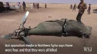 Крушение российского вертолета Ми-8 в Сирии