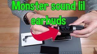 Monster Clarity 101 Airlinks earbuds headphones are AMAZING !