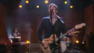 Jimmy Eat World - Coffee & Cigarettes live on Conan Show part 3