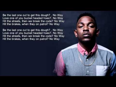 Kendrick Lamar  Money Trees HD Lyrics