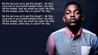 Repeat youtube video Kendrick Lamar - Money Trees (HD Lyrics)
