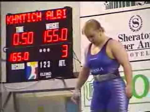 Women +75 kg 2001 World Weightlifting Championships - Antalya- by GENADI - Weightlifting Expert