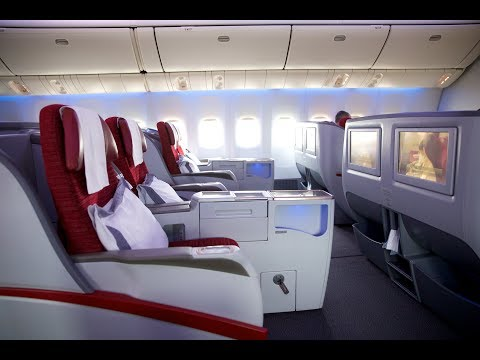 4K Qatar Airways Business Class Service from Canberra to Doha with Sandra Bullock