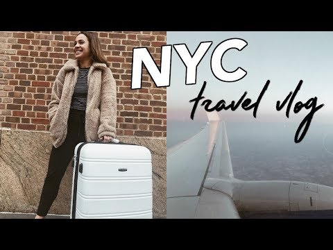 traveling new york city + meeting my internet friend // nyc vlog