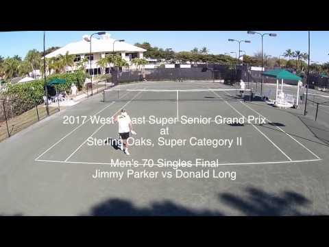 Senior Tennis - Men's 70 Singles Final, Sterling Oaks  Category II Finals