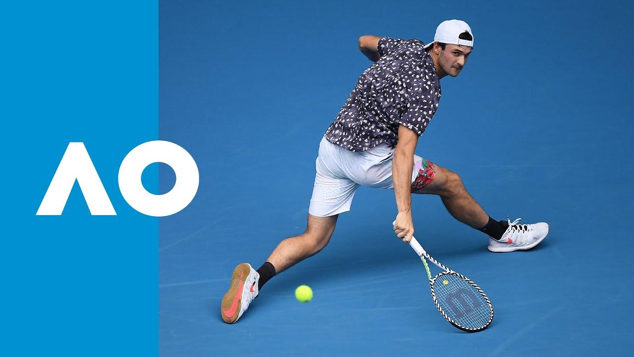 Tommy Paul vs Grigor Dimitrov - Match Highlights (2R) | Australian Open 2020