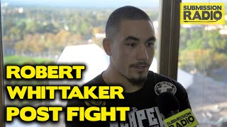 UFC Fight Night Adelaide: Robert Whittaker talks Brad Tavares KO, being a small middleweight