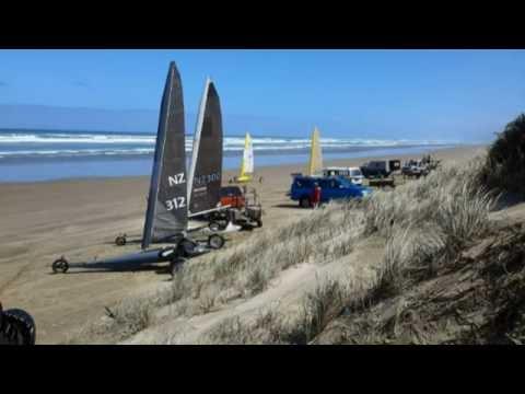 Land Yachting Ninety Mile Beach NZ