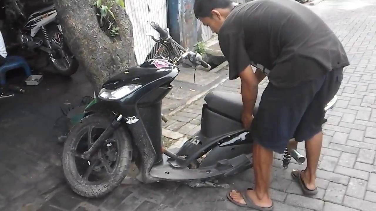 Koleksi Ide 61 Modifikasi Motor Mio Freestyle Terkeren Sendal Motor