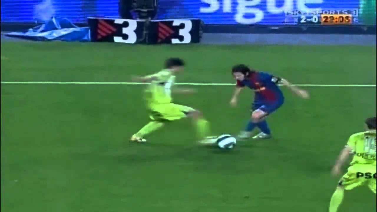 Download Lionel Messi's solo goal vs Getafe (Eng. commentary)