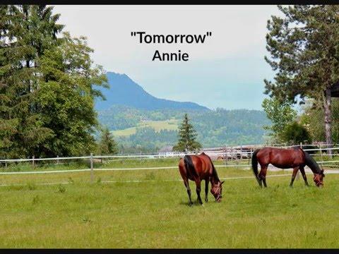 Tomorrow (Lyrics) - Annie