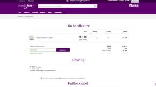 Hvordan bruke en rabattkode fra Nordicfeel