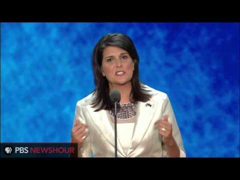 South Carolina Gov. Nikki Haley Addresses Republican National Convention