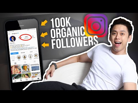 How To Get 100k Organic Followers On Instagram Fast. New 2020 Method