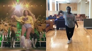 Fan Nails Beyonce's Coachella Dance Moves
