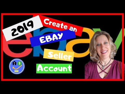 Create a new Ebay Seller Account & Adjust to Seller Settings 2019
