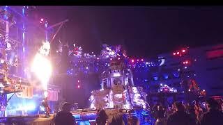 Байк-шоу 2018, КняZZ и огнеметы