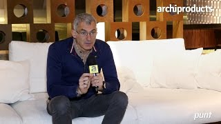Salone del Mobile.Milano 2017 | PUNT - Arik Levy talks about Punt Bay the quartz and wood table