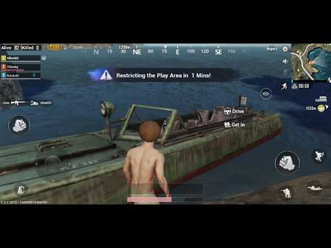 PUBG Mobile Gameplay #1 - The First Game (Android)