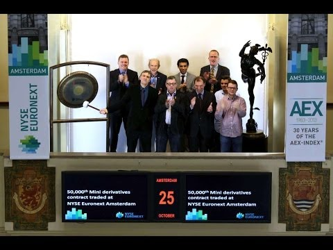50,000th Mini derivatives contract traded at NYSE Euronext Amsterdam