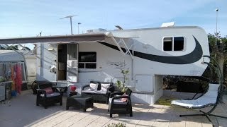 Kountrylite Fifth Wheel For Sale On Camping Villamar Caravan Park, Benidorm, Costa Blanca, Spain