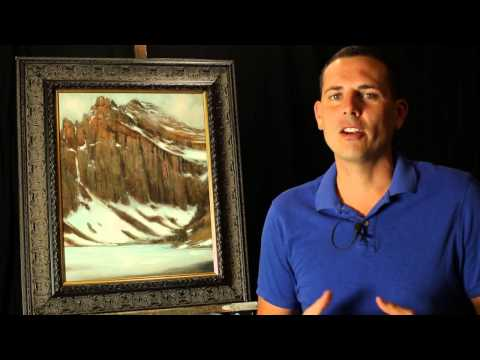 Adding the look of texture to your mountain paintings, Tips and Tricks by Tim Gagnon