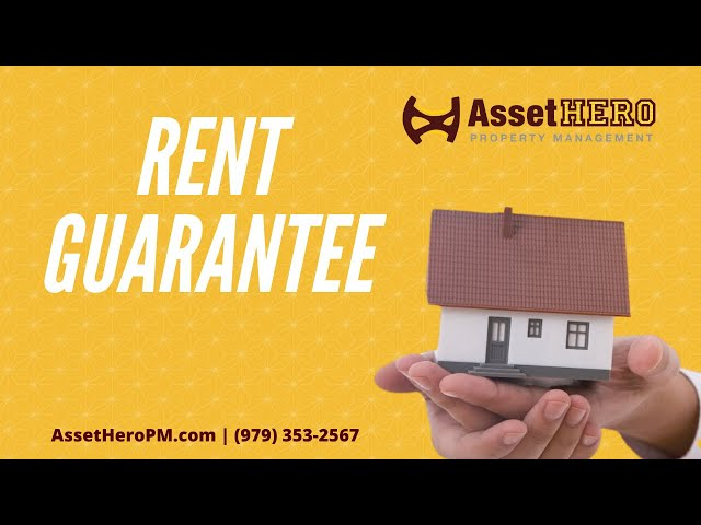 Rent Guarantee | Property Management Education | Asset Hero Property Management