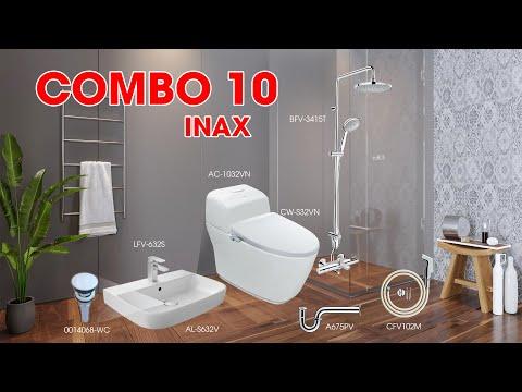 Video Combo Thiết bị vệ sinh Inax 10