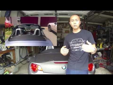 Diy Wind Deflector Bmw Z4 Vlog 27 Youtube