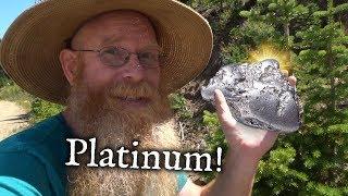 Prospecting for High Grade Platinum ore.