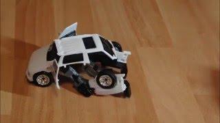 Прикол с машинками трансформерами. Transformers toys stop motion.