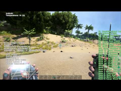 Ark Survival Evolved - tracker and transponder node