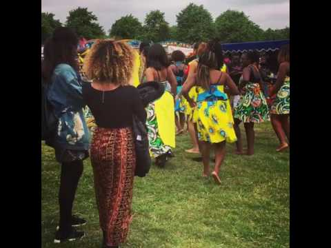 Traditional African Dancing at Ghana Party in the Park!