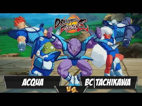ACQUA(Ginyu/GT Goku/Trunks) Fights BC|Tachikawa(Android 18/Janemba/Frieza)[DBFZ PS4]
