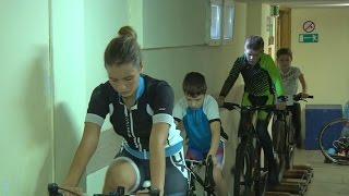 Будущие чемпионы велоспорта