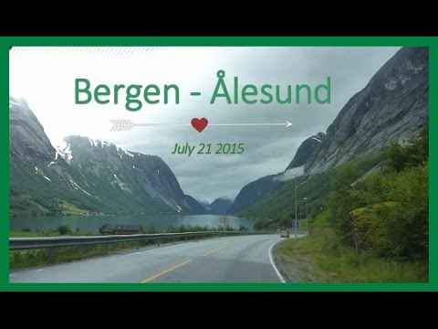Roadtrip'in in beautiful Norway 4 | BERGEN - ÅLESUND