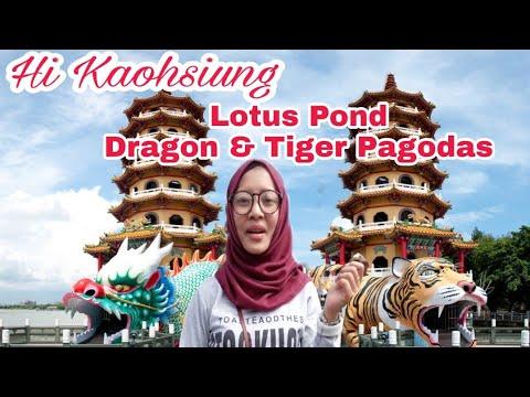 LOTUS POND & TIGER PAGODAS KAOHSIUNG TAIWAN | TKW JALAN-JALAN