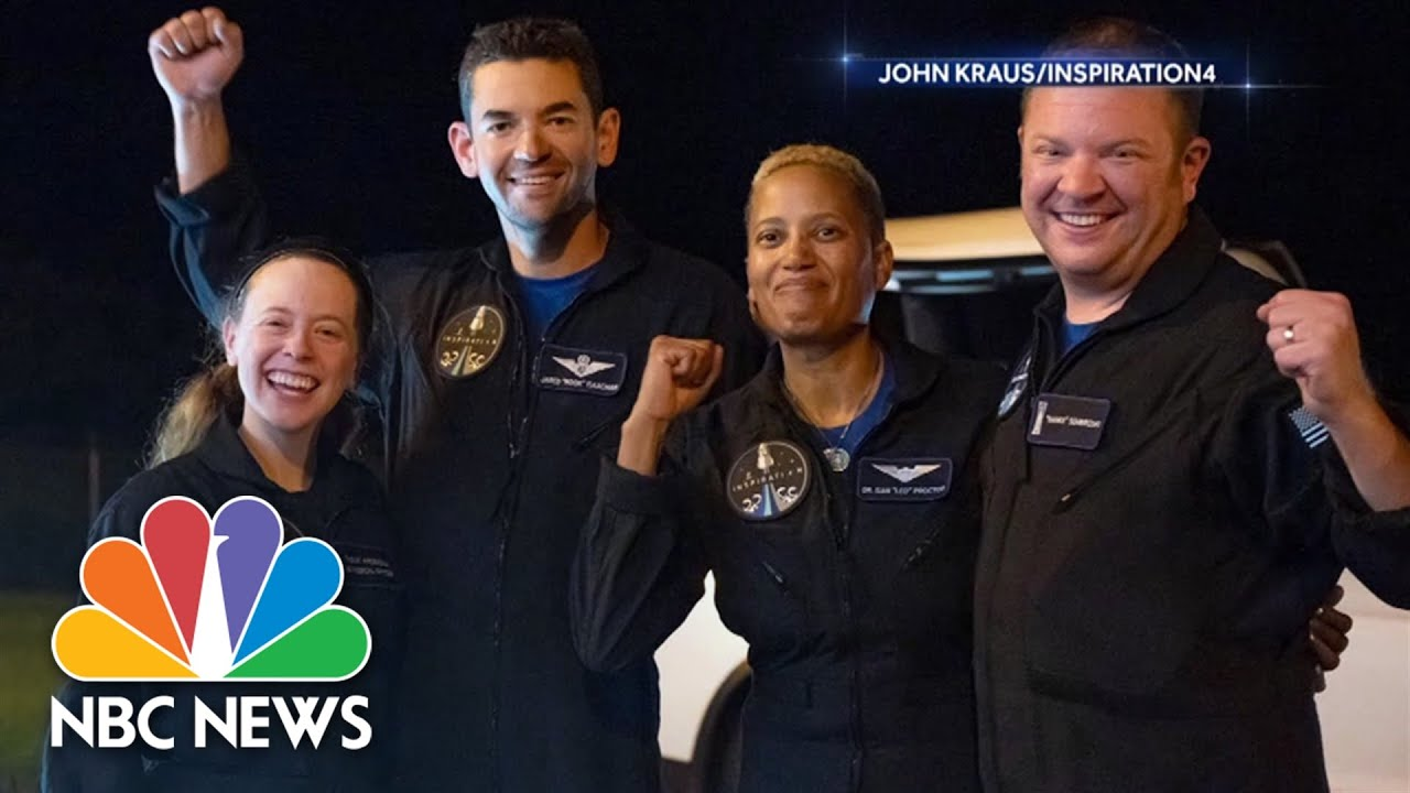 Download Extended Interview: All-Civilian Inspiration4 Crew On Historic Mission